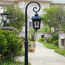 garden lamps.  Garden LED Garden Lights Lawn Lamps Retro Street Post Lighting Led Landscape Light  With Bulbs For Villa Hotel Decoration  With DHgatecom