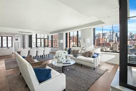 Inside the sky duplex on 23rd Street, one of the properties featured on  the Million Dollar Listing New York premiere.