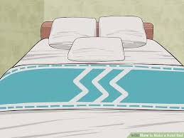 image titled make a hotel bed step 14