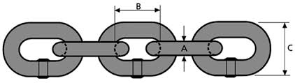 Steel Chain Strength Chart Grade 8 Lifting Chain En818 2