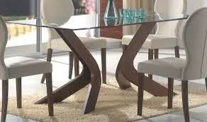 glass dining table with wood base interior design glass top dining regarding glass top dining tables