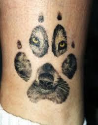 Tetování Reálný Otisk Psí Tlapky Diskuze Omlazenícz 6