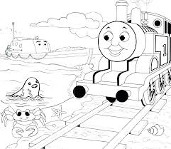 railroad sign printable color page the tank engine coloring pages train calendar 2017