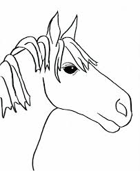 Small Picture Simple Horse Drawings For Kids Images Pictures Becuo