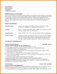 Server Resume Template Elegant Qualifications A Resume Examples