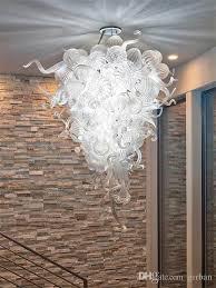 latest blown glass ball chandelier lighting 110 240v murano crystal pendant lamp fixture italian style light for luxury house decor red pendant light