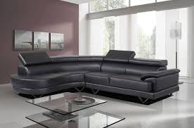 cosmo contemporary black leather corner sofa with glass coffee table