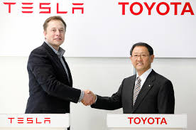 Toyota sells some Tesla shares, cooperation still possible