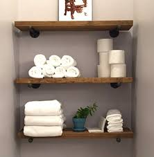 Ivory Floating Shelves