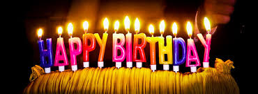 image candle light happy birthday text design graphic