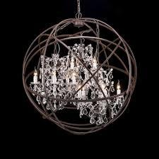 creative of black sphere chandelier chandelier white wood orb chandelier brushed nickel orb
