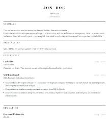 Resume Cover Letter Generator Resume Template Builder Luxury Resume ...
