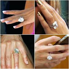 Best Celebrity Diamond Rings Different Sizes Size Comparison Oval ...