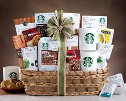 starbucks gift basket delight