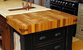 wood butcher block countertop