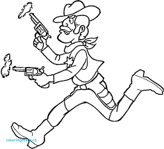 Peaceful Design Cowgirl Coloring Pages Printable Cowboy Pictures To