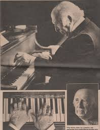 High Stepping on his Steinway was Mischa Kottler