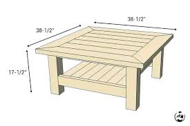 coffee table dimensions s diy crate standard size in cm height and width