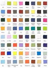 36 Curious Gildan Color Chart Download