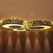 contemporary ceiling light round crystal led grand hyatt by hba dubai