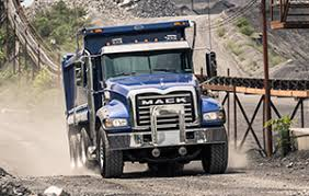 granite series semi truck models mack trucks dump
