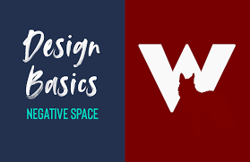 What Is Negative Space In Graphic Design Negative Space Design Basics Episode 1