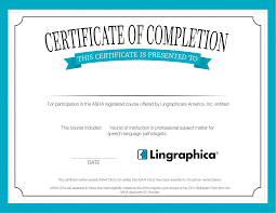 Certificate Background Lingraphica