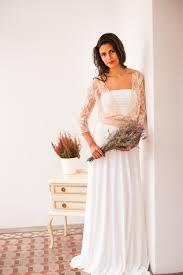 wedding dress sleeves rose quartz bridal gown pastel pink