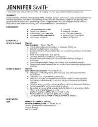 Scientific Resume Template Scientific Resume Templates