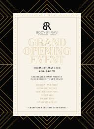 Grand Opening Invitations Cosmetic Practice Grand Opening Invite Eblast On Behance