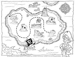 Small Picture Treasure Map Coloring Pages GetColoringPagescom