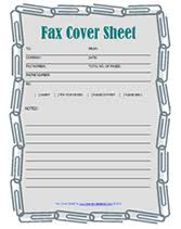 Fax Download Pdf Download Free Printable Fax Cover Sheets