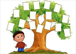 Family Tree Picture Template Family Tree Template For Kids Free Word Excel Format Chart