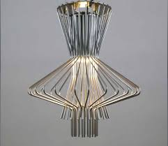 modern creative pendant light fixture with stainless steel