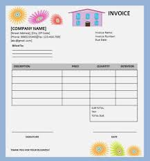 repair invoice template home repair invoice template 8 amazing free editable templates