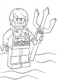 Disegno Di Lego Aquaman Da Colorare Disegni Da Colorare E Stampare