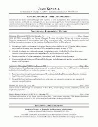 Hotel General Manager Resume Template Amazing Hotel Manager Resume Example Examples Of Resumes Inside Hotel