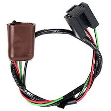 70 mustang headlight wiring harness extension (alloy metal's brand 89 mustang headlight wiring diagram at Mustang Headlights Harness
