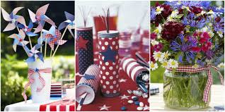 Cars Table Decorations 30 Diy 4th Of July Decorations 2017 Patriotic Fourth Of July