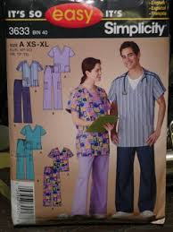 Scrub Patterns Stunning PJ's From A Scrubs Pattern Crafty Staci