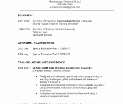 Special Education Teacher Cover Letter Sales Marketing Resume