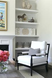 alcoves on either side of fireplace design ideas with bookshelves each view full size