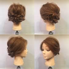 意外と簡単浴衣姿に合わせたいミディアム向けのヘアアレンジhair