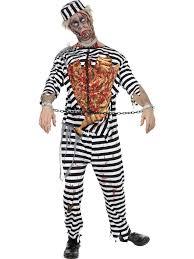 Beautiful Deluxe Zombie Convict Costume. Couples Zombie Costumes Uk ...