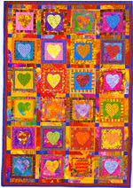 Bright Quilts From Down from Australian Patchwork and Quilting & Crazy Hearts ... Adamdwight.com