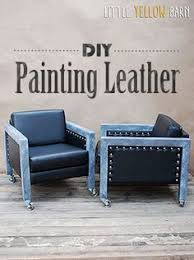 how to paint leather furniture. How To Paint Leather Furniture