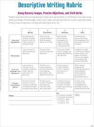 grade descriptive writing rubric google search tutoring  teacher