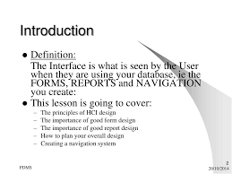 Importance Of Good Design In Hci Ppt Human Computer Interface Powerpoint Presentation Free