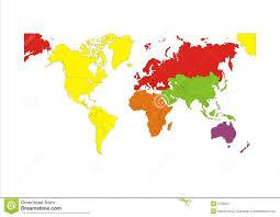 Continent Map Outline Under Fontanacountryinn Com