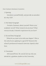 How To Write A Standout Personal Statement Grad School Pinterest